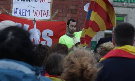Bangor Rally Calls For Spanish Democracy