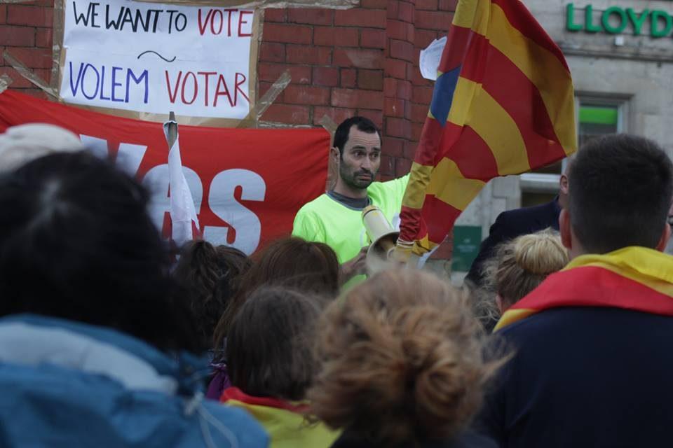 Bangor Rally Calls For Spanish Democracy