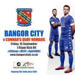 Bangor City Face Tough Test Against Connah's Quay