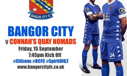 Bangor City Face Tough Test Against Connah's Quay