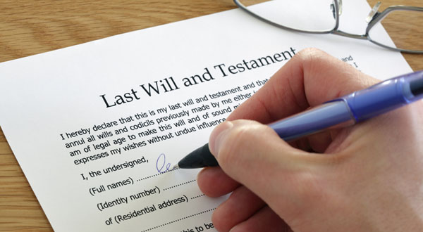 Have Your Say On Making A Will