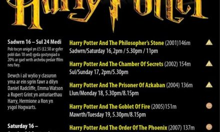 Harry Potter Film Fest at Pontio