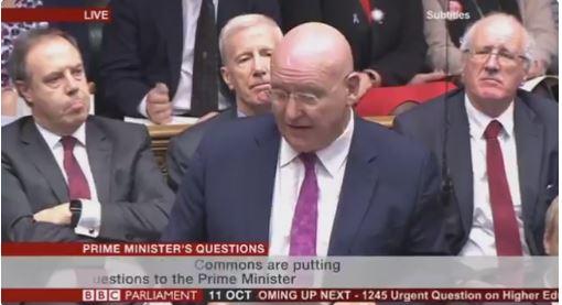 Hywel Williams Questions Theresa May on Ysbyty Gwynedd Vascular Services