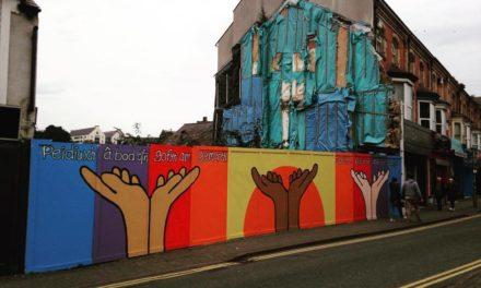 New Artwork brightens up Bangor High Street