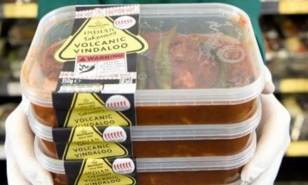 'Volcanic Vindaloo' arrives at Bangor Morrisons