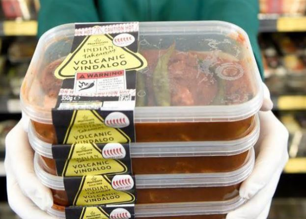 Morrisons launches the hottest supermarket curry in the UK