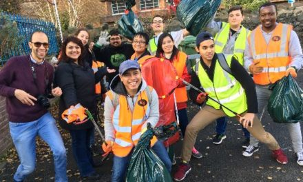 International Students Go Green Around Bangor