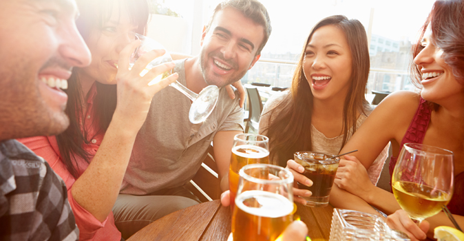 Different types of alcohol can elicit different emotions