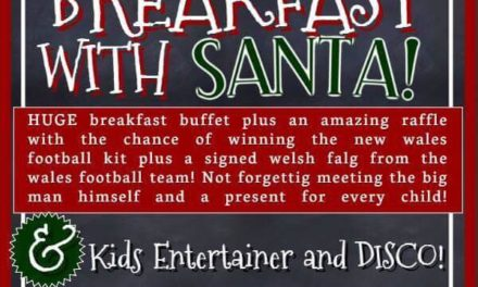 Enjoy Breakfast with Santa at The Castle in Bangor
