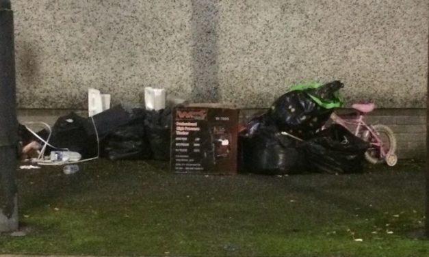 Travellers have left Kyffin Square Car Park in Bangor