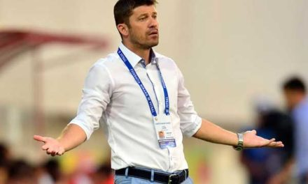 """Romania Under-21 Manager """"We were made to train in a swamp"""""""
