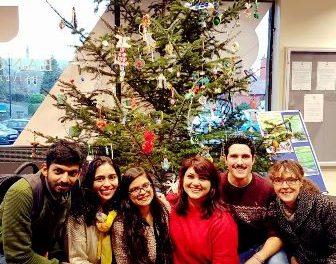 Bangor Students Go Green with an International Christmas Tree