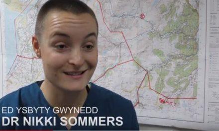 Ysbyty Gwynedd Emergency Doctor implements a unique morale boosting idea for staff