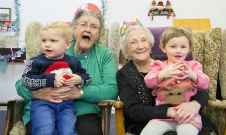 Hen Blant Bach – What happens when pre-schoolers share their day care with pensioners