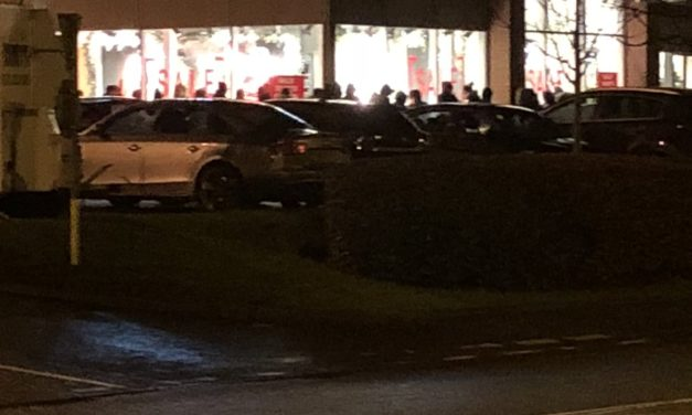 Early start for Bangor shoppers at the Next Boxing Day sale