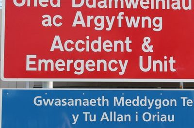 Claims Ysbyty Gwynedd Patients are waiting in the Emergency Department up to two days for a bed