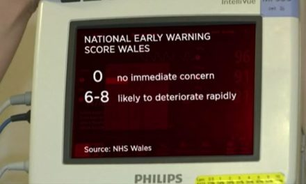 Ysbyty Gwynedd electronic 'Early Warning System' helps save lives