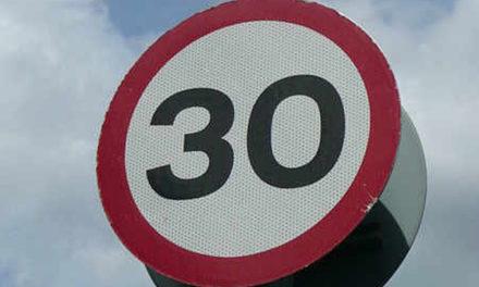 Caernarfon Road Speed Limit reduced to 30mph between Coed Mawr & Tesco