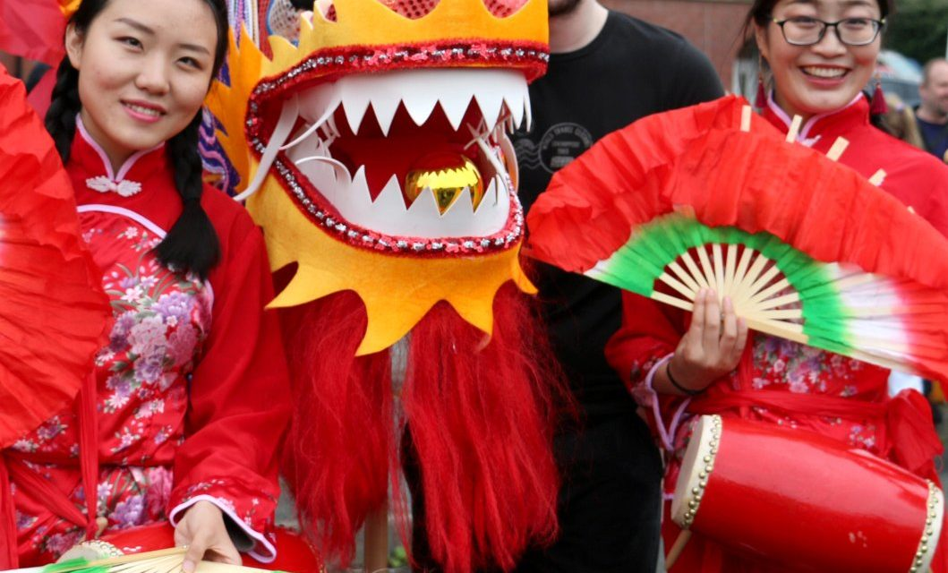 Bangor Chinese New Year Dragon Parade & Wales-China Festival