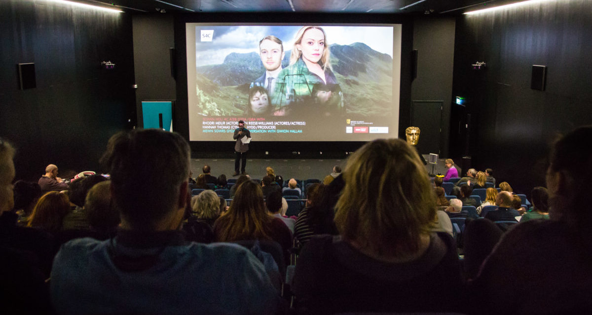 Packed-out Pontio hosts premiere of new drama Craith