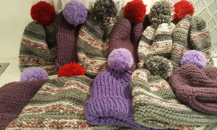 How a knitting appeal in Pembrokeshire helped the homeless in Bangor