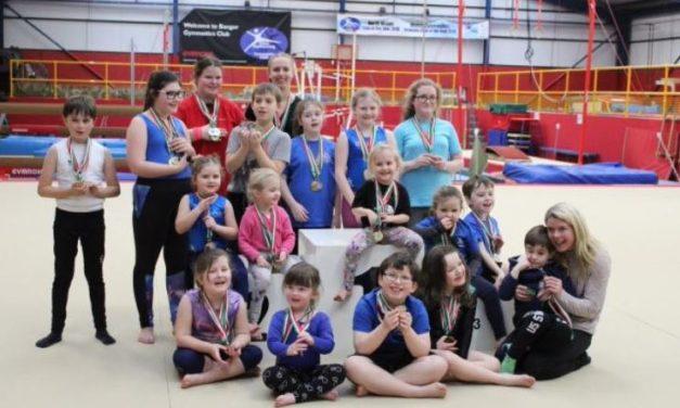 Bangor Gymnastics coach wins 'Transforming Lives Award'