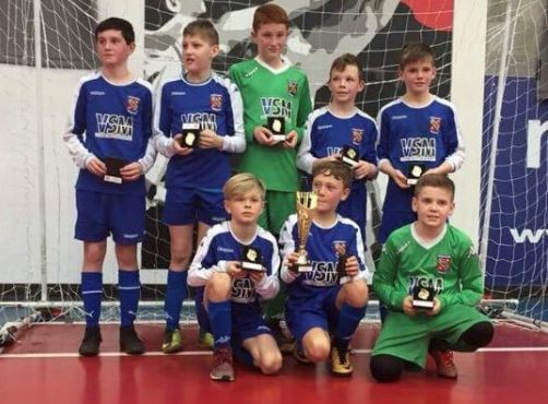 Bangor City Under-12's Crowned National Futsal Champions