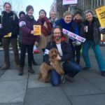 Bangor University staff begin strike action over pensions