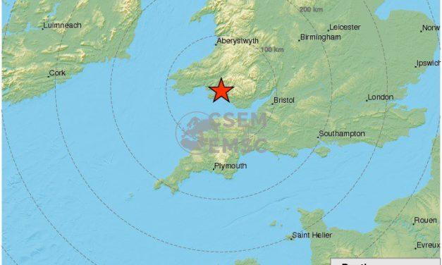 Earth Tremor Felt Across North Wales