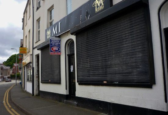 Start-Up Retail Units planned for former Bangor Nightclub