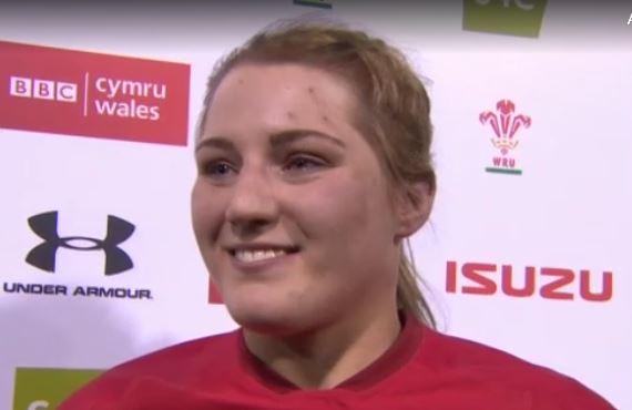 Bangor University student Teleri Davies makes Wales rugby debut
