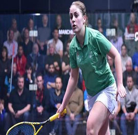 Tesni Evans completes stunning win at National Squash Championships