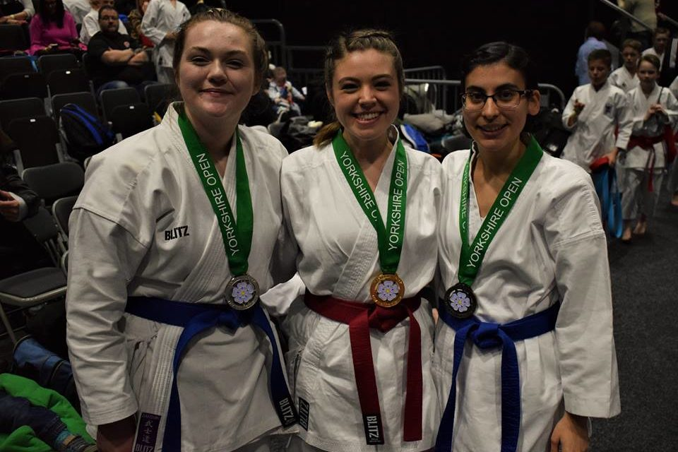 Bangor Karate Union claim medal success at Yorkshire Open Championships