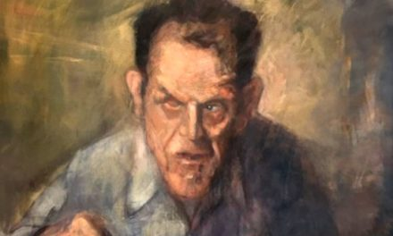A Hidden Portrait – BBC features painting by Bangor artist Pete Jones