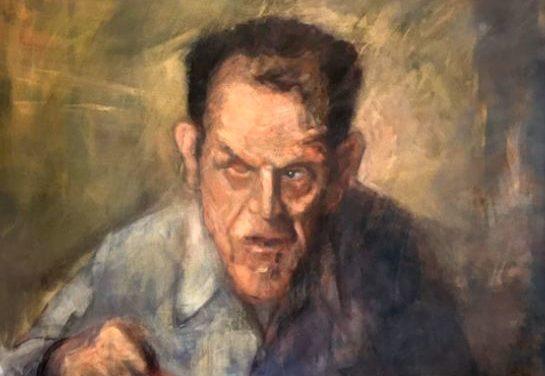 A Hidden Portrait – BBC features painting by Bangor artist Pete Jones