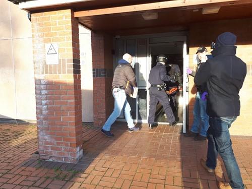 Five arrested in huge Bangor drug operation by police