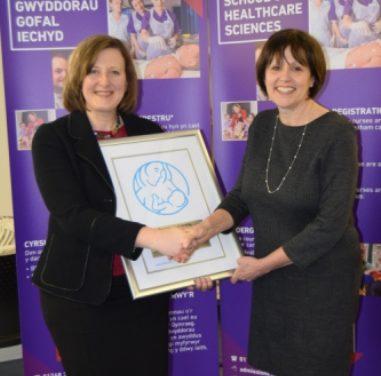 Baby-friendly Award for Bangor University