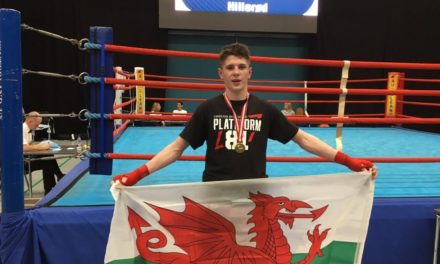 Bangor boxer Connor Burns to fight on the big stage