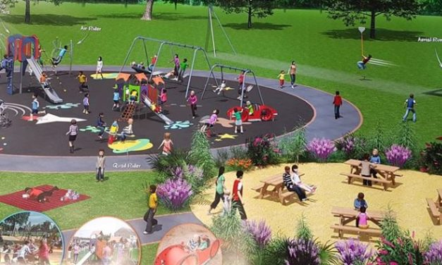 New state of the art playground in Maesgeirchen to go ahead