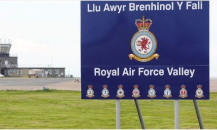Messages of condolence following accident at RAF Valley