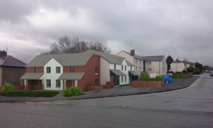 Plans approved for Trem Elidir flats development