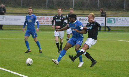 Bangor City bid farewell to the Welsh Premier League
