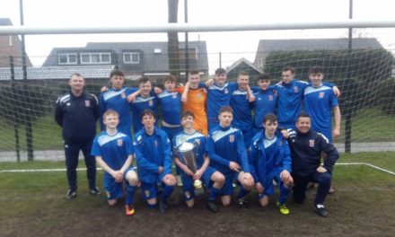 Bangor City U16s Win the Dutch 2018 Easter Open South Tournament