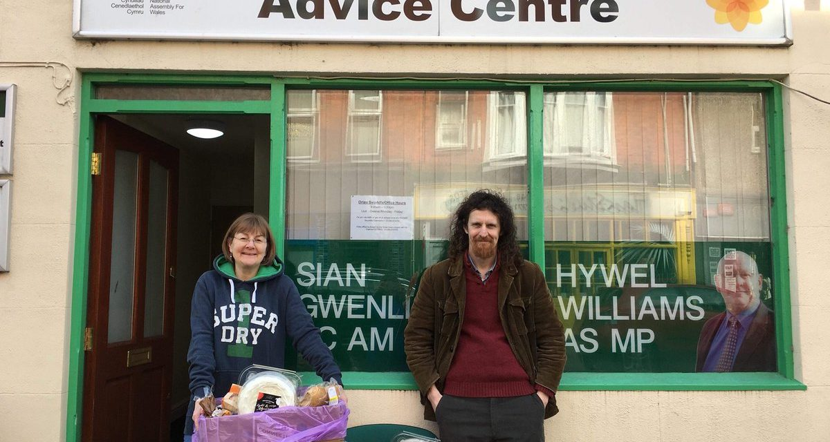 Supermarket Surplus Food Share Scheme Launched in Bangor