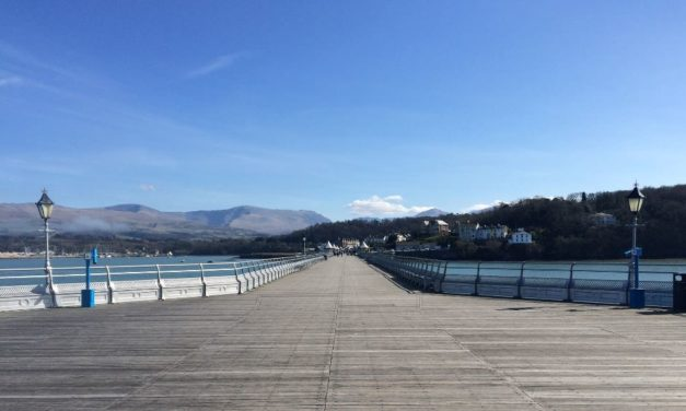 Bangor Pier features in The Guardian's best views in the UK