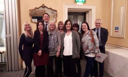 Ysbyty Gwynedd runners raise awareness of smear tests