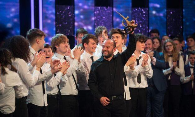 Ysgol Tryfan's Jazz Band Win Band Cymru 2018