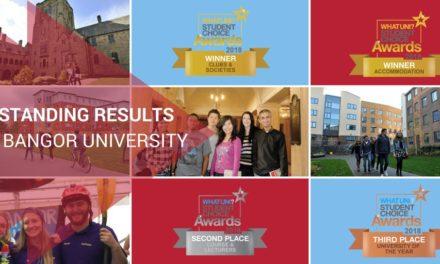 'WhatUni' Awards Success for Bangor University