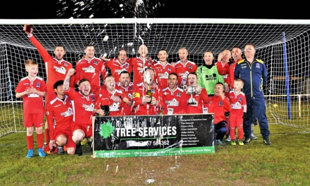Arriva Bangor Football Club Win The Elias Cup