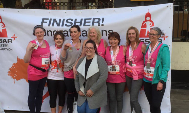 Ysbyty Gwynedd staff raise money & promote awareness of cervical cancer screening